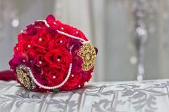 Handbloem voor huwelijk Stock Foto's