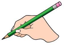 handblyertspennawriting Fotografering för Bildbyråer