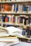 Handboeken en onderwijs Royalty-vrije Stock Fotografie