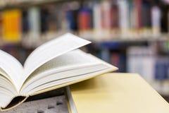 Handboeken en onderwijs Stock Foto's