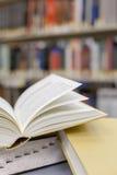 Handboeken en onderwijs Stock Foto