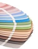 Handbok för färgdiagram Arkivfoto