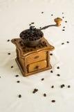 handbok för kaffegrinder Arkivbild