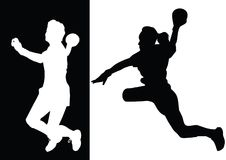 handboll Arkivfoton
