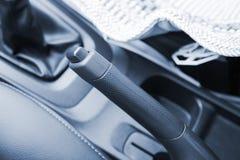 Handbrake αυτοκινήτων στοκ εικόνες