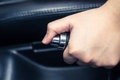 Handbrake αυτοκινήτων στοκ φωτογραφίες με δικαίωμα ελεύθερης χρήσης