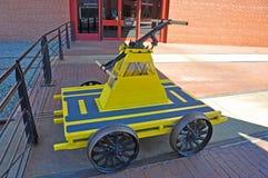 Handcar, Scranton, PA, Etats-Unis photos stock