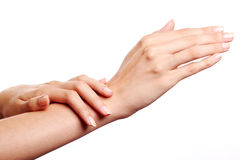 Handcare Stock Photo