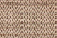 Handcraft предпосылка циновки осоки текстуры weave тайская Стоковые Изображения RF