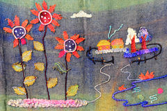 Handcraft цветки солнца Стоковое Фото