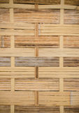 The handcraft of bamboo weave pattern fence. Background Stock Photos