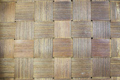 Handcraft of bamboo weave pattern. Texture and background Royalty Free Stock Image