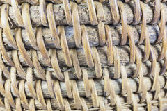 Handcraft of bamboo weave pattern Royalty Free Stock Photos