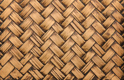 Handcraft bamboo weave texture abstract for background.  Royalty Free Stock Image