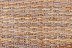Handcraft bamboo weave texture for background Royalty Free Stock Image