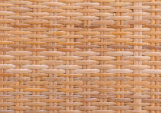 Handcraft bamboo weave texture for background.  Stock Photography