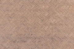 Handcraft of bamboo weave texture for background.  Stock Images