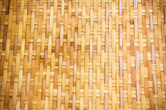 Handcraft bamboo weave Stock Images