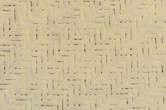 Handcraft bamboo weave texture for background.  Royalty Free Stock Photography