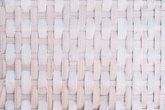 Handcraft bamboo weave texture background Royalty Free Stock Photo