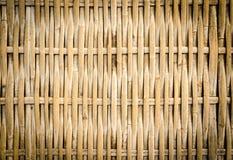 Handcraft bambus wyplata Obraz Royalty Free