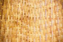 Handcraft bambuväv Arkivbilder