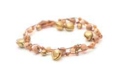 Handcraft beautiful bracelet Royalty Free Stock Photography