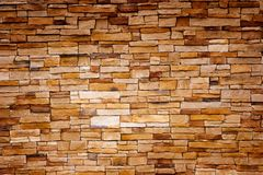 Handcraft Brick Wall Royalty Free Stock Photos