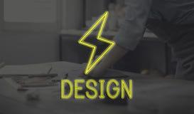 Handcraft designskapelseaffärsidéen fotografering för bildbyråer