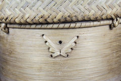 Handcraft du modèle en bambou d'armure Images libres de droits