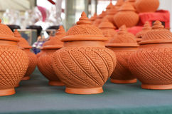 Handcraft Earthenware Stock Photo