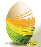 Handcraft Easter egg Royalty Free Stock Photography