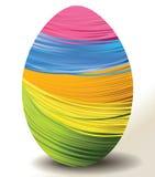 Handcraft Easter egg. Holiday background handcraft Easter egg Stock Images