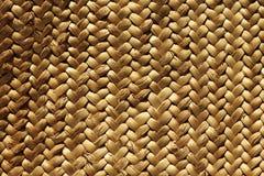 Handcraft la fibra vegetale naturale di struttura del tessuto Immagini Stock