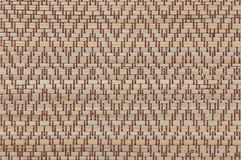 Handcraft le fond thaïlandais de tapis de carex de texture d'armure Images libres de droits