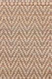 Handcraft le fond thaïlandais de tapis de carex de texture d'armure Image stock