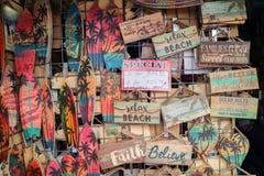 Handcraft le travail sur la rue de Los Angeles photos libres de droits