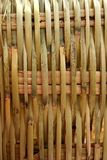 Handcraft mexican cane basketry vegetal texture Royalty Free Stock Images