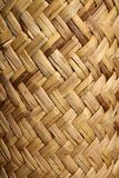 Handcraft mexican cane basketry vegetal texture Royalty Free Stock Photos