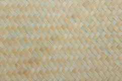Handcraft o fundo de bambu natural da parede da textura do weave Fotografia de Stock Royalty Free