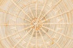 Handcraft o vime natural da textura do weave Foto de Stock Royalty Free