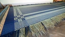 Handcraft o vime natural da textura do weave Fotos de Stock