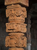 Handcraft pillar, India Stock Images