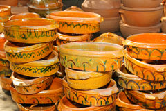 Handcraft pottery Royalty Free Stock Image