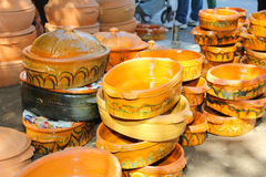 Handcraft pottery Royalty Free Stock Photography