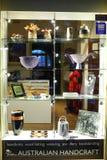 Australian Handcraft store window display Stock Images
