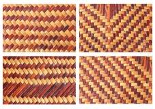 Handcraft weave teksturę Obrazy Stock