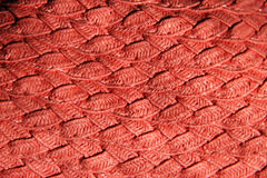 Handcraft weave texture Royalty Free Stock Images