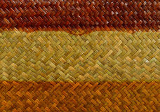 Handcraft weave texture Stock Photography