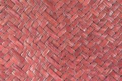 Handcraft weave texture natural wicker Stock Image